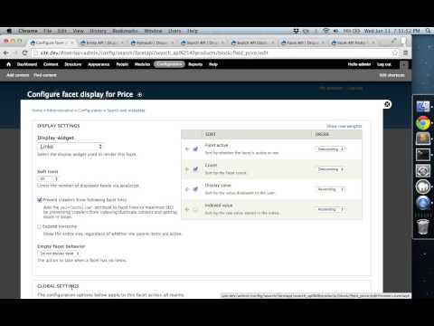 Faceted Search in Drupal 7
