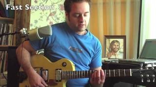 Green Day Tre Dirty Rotten Bastards how to play on guitar
