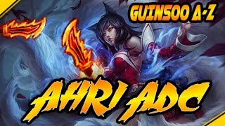 AHRI ADC y el STOMP - Guinsoo A-Z | League Of Legends gameplay español