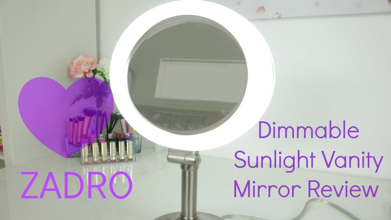 Zadro Dimmable Florescent Dual Sided Mirror Review