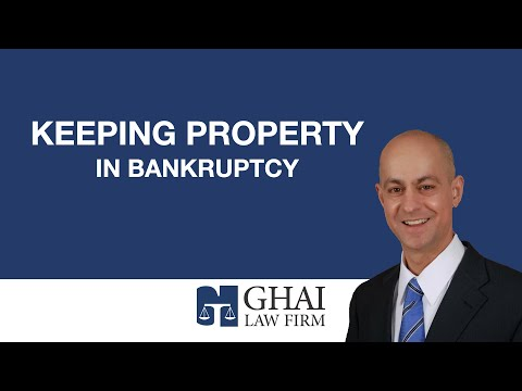 Keeping Property in Bankruptcy