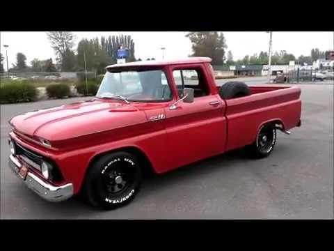 1962 Chevrolet Fleetside Pickup - YouTube