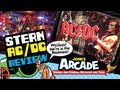 Stern AC/DC Premium Pinball Review - Gameplay and Unboxing - ACDC Pinball