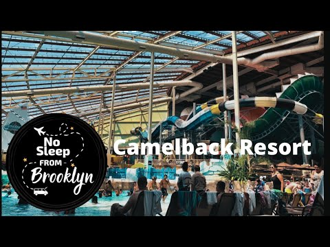 Camelback's Aquatopia - Indoor Waterpark With Largest Water Coaster!