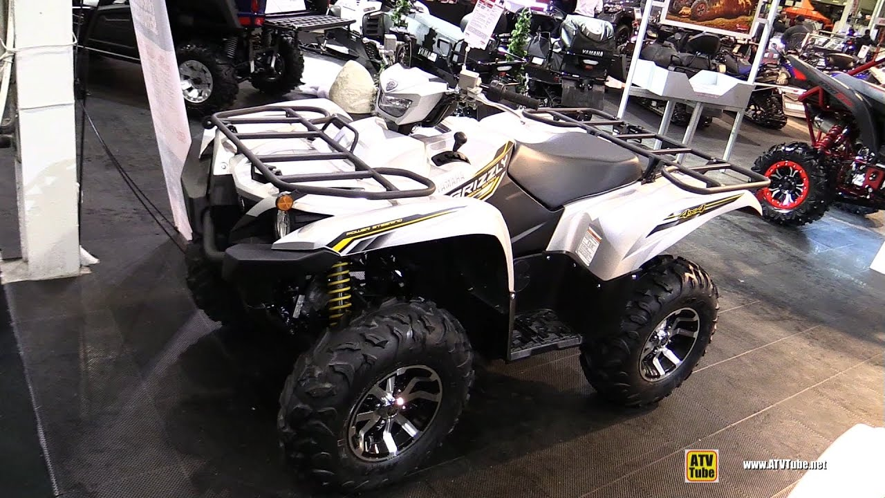 2017 Yamaha Grizzly 700 Eps Special Edition Recreational Atv Walkaround You