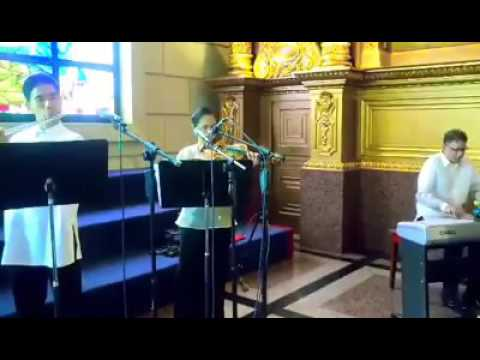 Wedding Musicians Manila Philippines - CAN'T HELP FALLING IN LOVE - STRING TRIO CHURCH MUSIC EVENTS