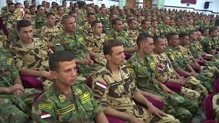 الفريق محمد زكى يلتقى بمقاتلى الوحدات الخاصة من الصاعقة والمظلات