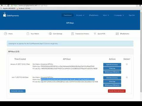 How To Setup Coinpayment