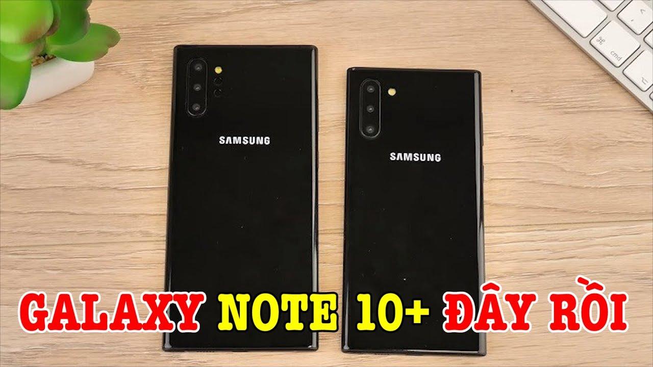 Galaxy Note 10 Plus có video trên tay rồi, giảm 6 triệu, chờ mai bán thôi