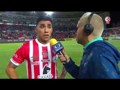 Entrevista a Edson Puch (Necaxa vs Pumas) - YouTube