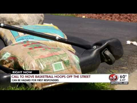 Cicero First Responders: Call to move basketball hoops off the streets