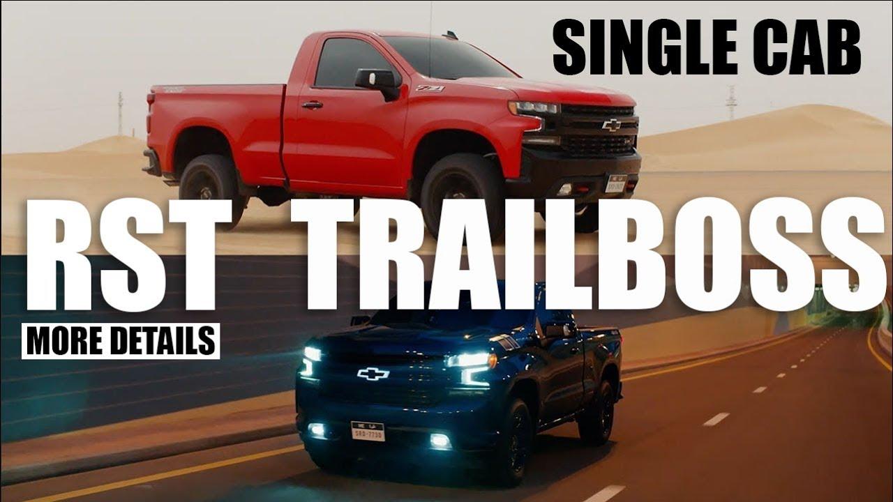 2019 Chevrolet Silverado Trail Boss & RST Regular CaB ...