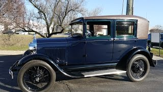 1929 Ford Model A Fordor 60a ***SOLD! SOLD! SOLD!***