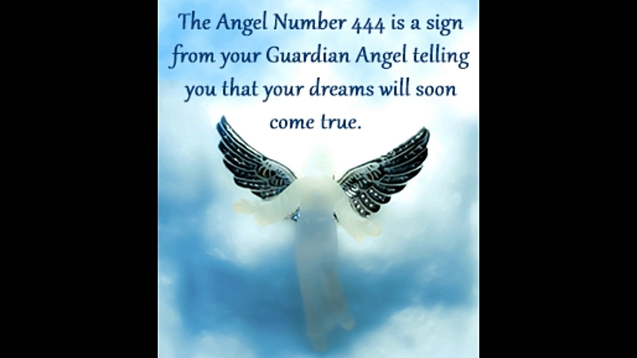Do You Keep Seeing The Angel Number 444 Heres What It Means Youtube