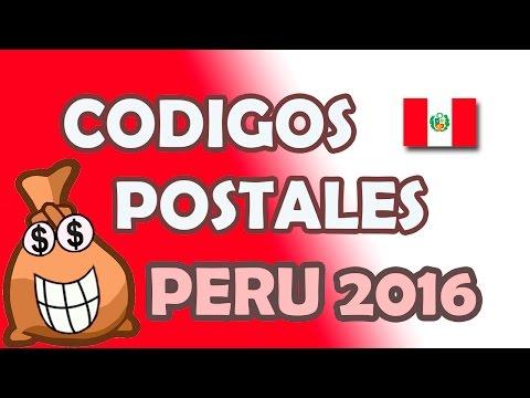 Codigo postal de Peru y Lima 2017 (Codigos actualizados)