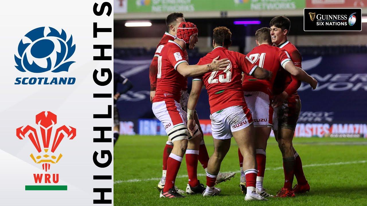 Gales venció a Escocia por un punto