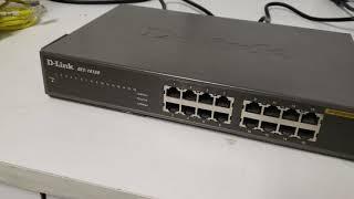 Switch Dlink DES 1016D