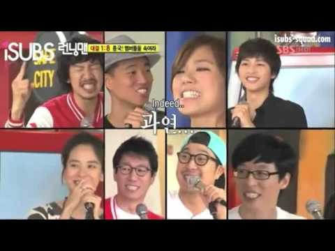 Running man~Singing game