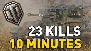 World of Tanks || 23 KILLS - 10 MINUTES