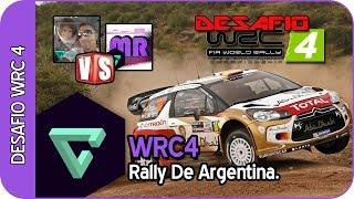 WRC 4   DESAFIO RALLY DE ARGENTINA   CON NANOSPEEDGAMER   GAMEPLAY -ESPAÑOL HD-