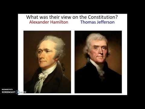 Washington Administration Pt.1
