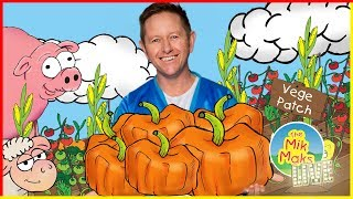 The Vegetable Song Live | Teaching Kids To Eat Vegetables | The Mik Maks