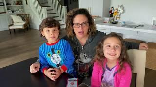 ¿Cómo hablar a los niños sobre el nuevo corona virus? Angélica Vale explica a sus hijos el Covid-19 YouTube Videos