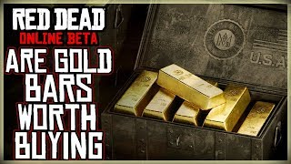 SHOULD YOU SPEND YOUR MONEY ON GOLD BARS? STORE RELEASED RED DEAD REDEMPTION 2 ONLINE BETA