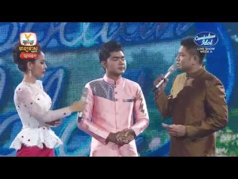 Cambodian Idol | Live show | Week 06 | Results