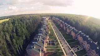 Закрытый поселок «Еланчик» с высоты птичьего полета