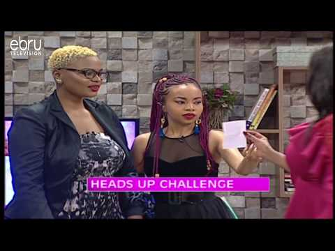 Game: Heads Up Challenge With Annabel Onyango