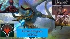 Modern Grixis Dragons MTGO