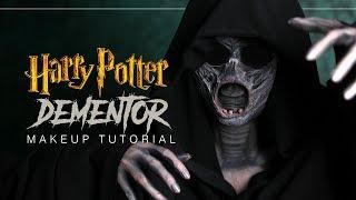 HARRY POTTER - DEMENTOR - Halloween Makeup Tutorial (deutsch) - #spooktober
