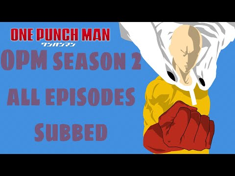 Haw To Download One Punch Man Season 2 Episodes English Dubbed