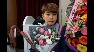 트로트 신동*정동원* 인생(모정애) 보릿고개.그물 / 2018 모정애 팬카페송년회 (문경 관광호텔)