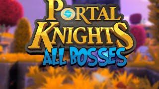 Portal Knights - All 3 bosses