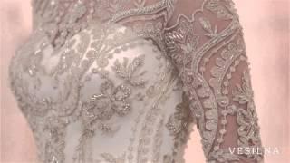 Свадебное платье 2016 года от VESILNA™ модель 3032