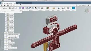 Уроки Fusion 360: 3D моделирование зубчатой рейки.  Fusion 360 How to model rack and pinion