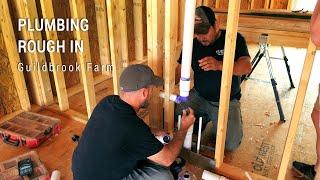 ICF Mountain Homestead: Plumbing Rough In
