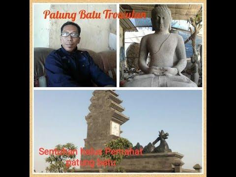 Q&A|| Pahatan Patung Batu dari Trowulan Mojokerto || with English Sub
