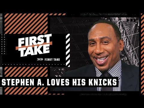Stephen A. lists all the reasons the Knicks' future is bright: 'New York stand up!'   First Take