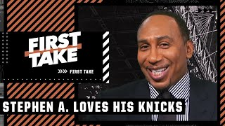 Stephen A. lists all the reasons the Knicks' future is bright: 'New York stand up!'