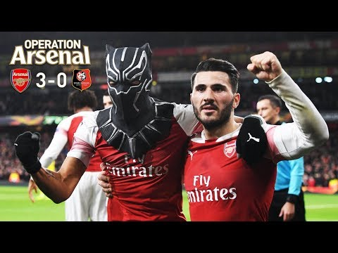 ARSENAL 3-0 STADE RENNAIS - WHAT A COMEBACK!