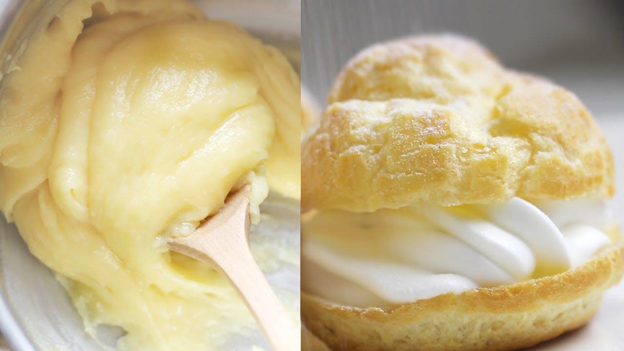 P226te 224 Choux Choux Pastry Dough Recipe 베이비슈 만들기 한글자막