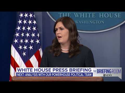 White House press briefing on Omarosa's WH exit, net neutrality,  Sandy Hook anniversary tax reform
