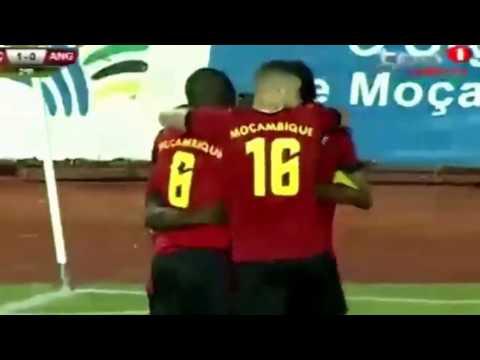 Mozambique 2 - 0 Angola  26-Mar-17 Friendly game