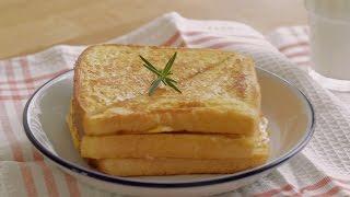[4k Mp3] Korean Drama 'a Hungry Woman'   Cheese Monte Cristo Easy Recipe : Honeykki 꿀키