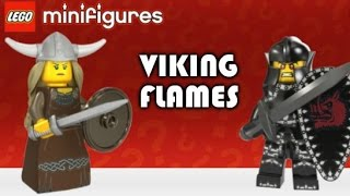 Лего Минифигурки игра - Пламя Викингов ( Lego Minifigures Viking Flames )