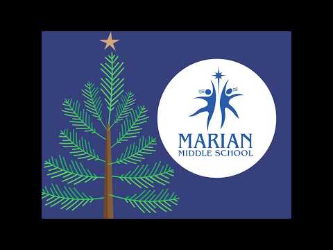Marian Middle School Wishes You a Merry Christmas!
