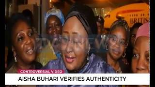 Gambar cover Aisha Buhari returns to Nigeria after long vacation in UK